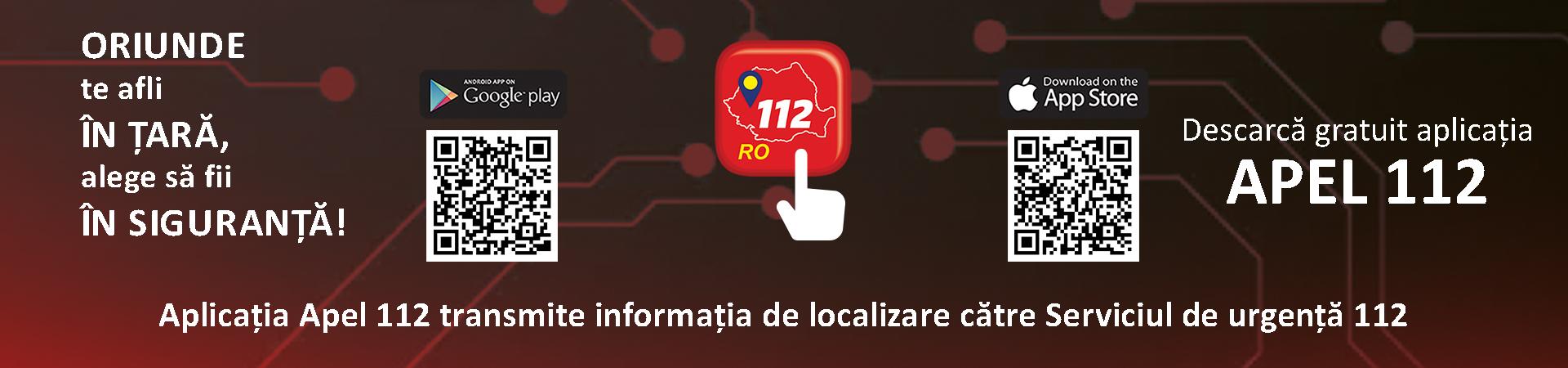 Descărcați aplicația 112